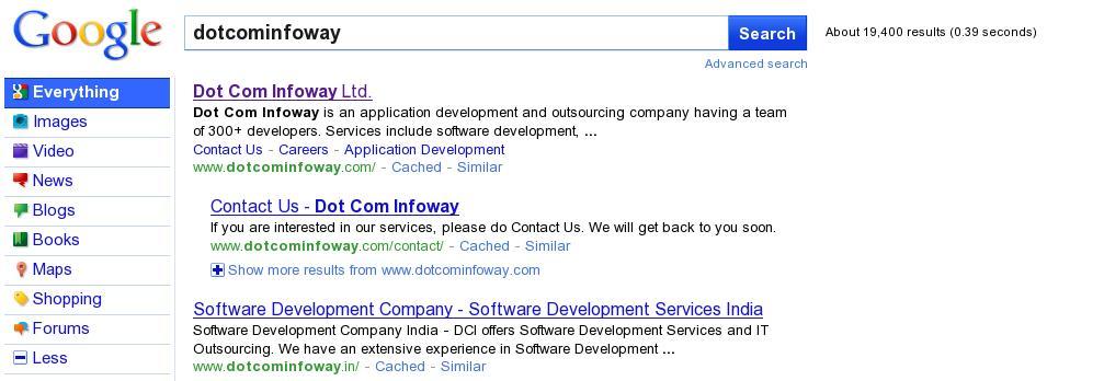 Google's New Layout