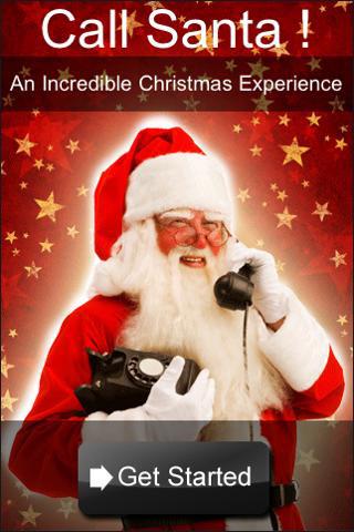 Call Santa iPhone app