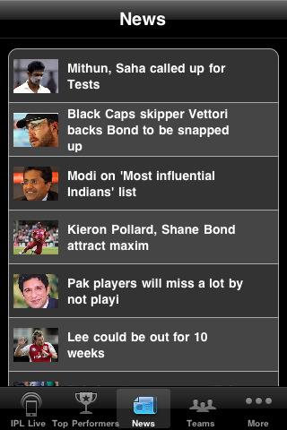IPL T20 Mobile App