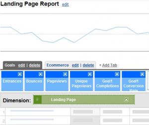 custom-landing-page-report