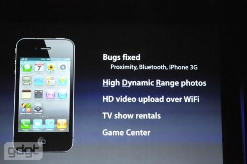 iOS 4.1 major updates