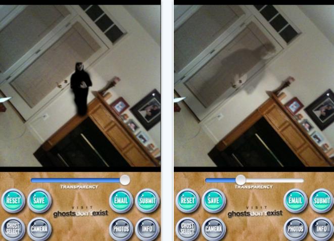 Ghost capture iPhone app