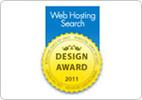 Web Hosting search design award 2011