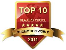 readers choice award 2011