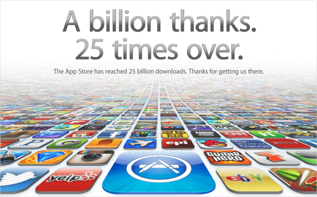 apple's thanks message