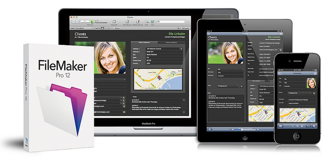 filemaker 12 products
