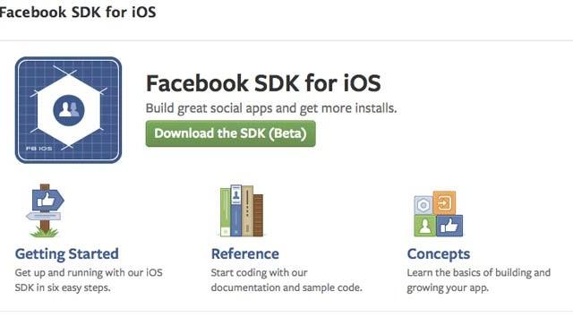 facebook sdk3.0 beta update