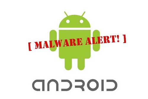 Android malware warning