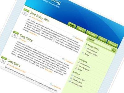 selecting free wordpress theme