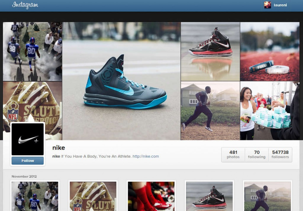 Instagram Rolls Web Profiles Similar to Facebook
