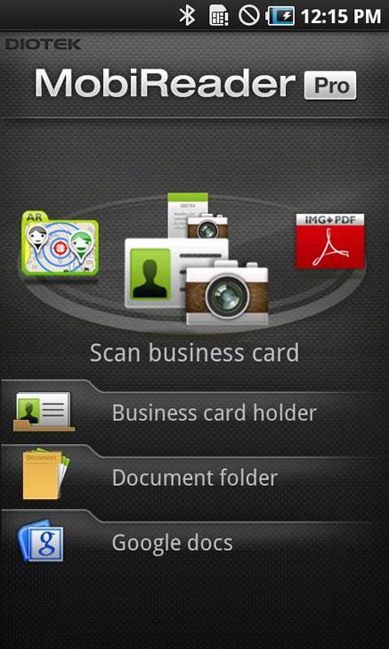 MobiReader-BizCard-Mobile