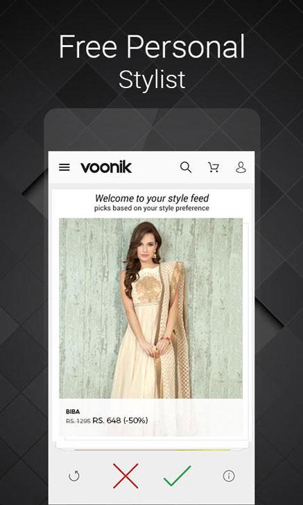Voonik-Mobile