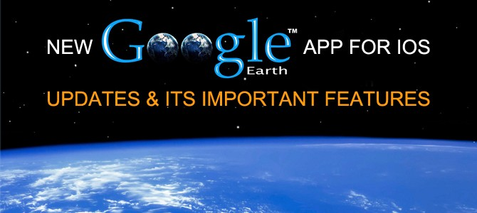 New google earth app