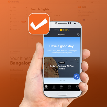 Cleartrip App Marketing Portfolio
