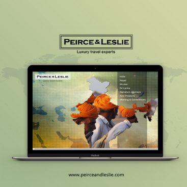 Peirce & Leslie Web Design Portfolio