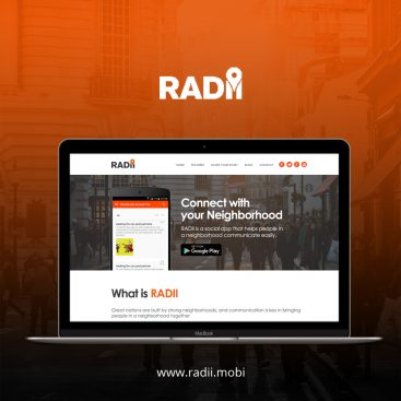 RADII Web Development Portfolio