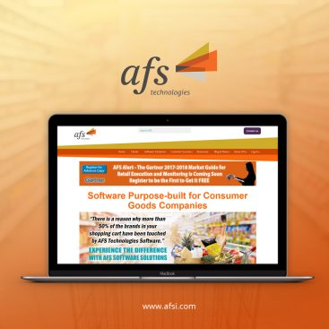 AFS Technology Digital Marketing Portfolio