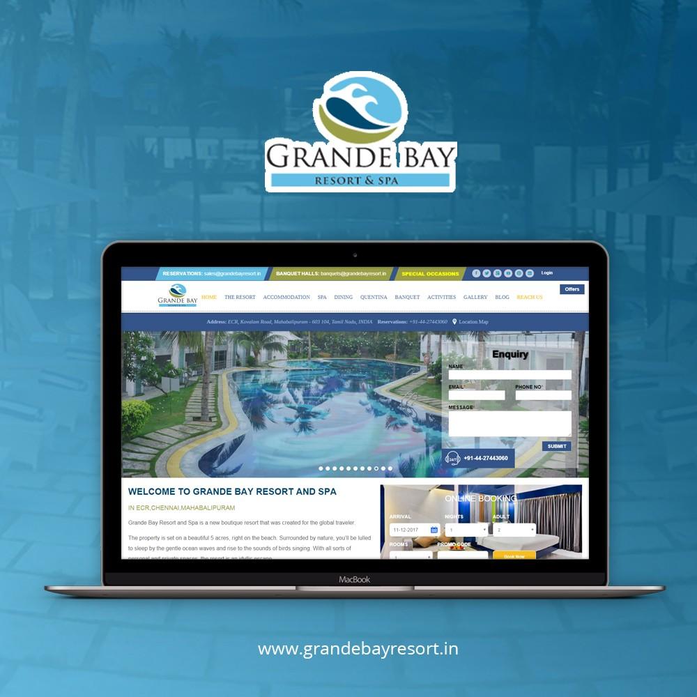 Resort website ppc portfolio b2c website ppc portfolio - Salon marketing digital ...