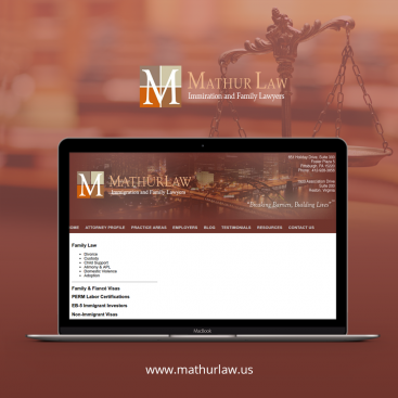mathurlaw Digital Marketing Portfolio