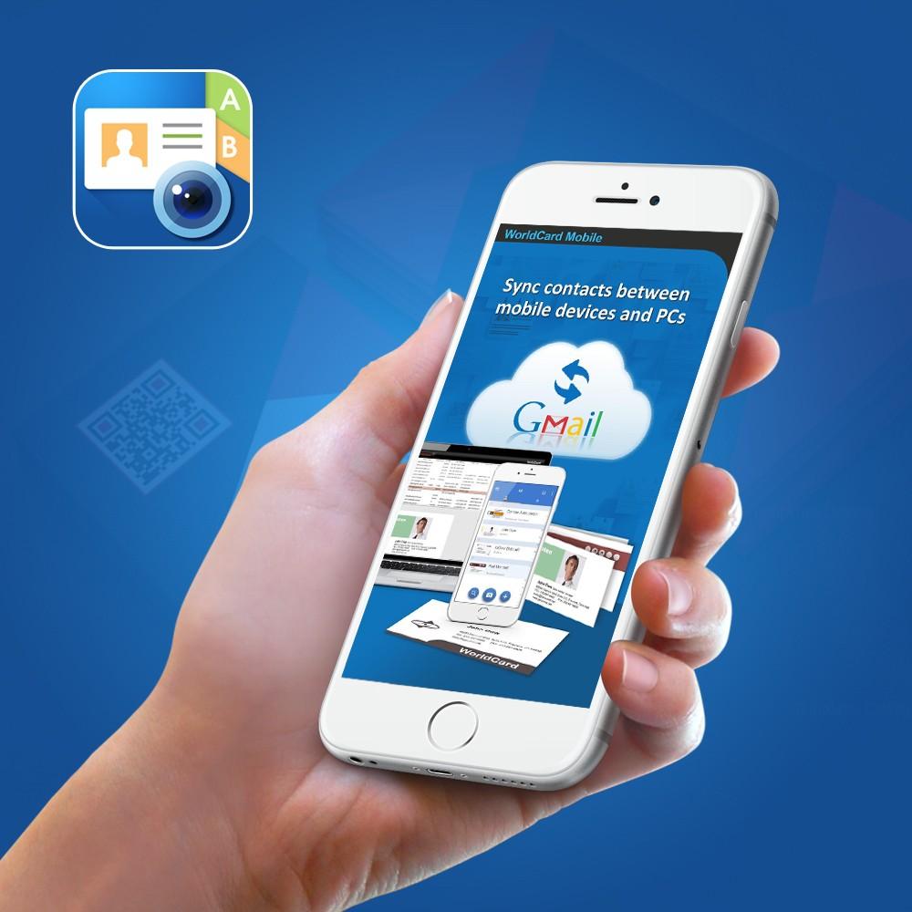 Business Card Reader Apps Marketing Portfolio, Smart Business card ...