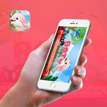 Boto the Pink Dolphin | Apps Marketing Portfolio