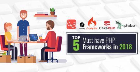 Top 5 PHP Frameworks 2018