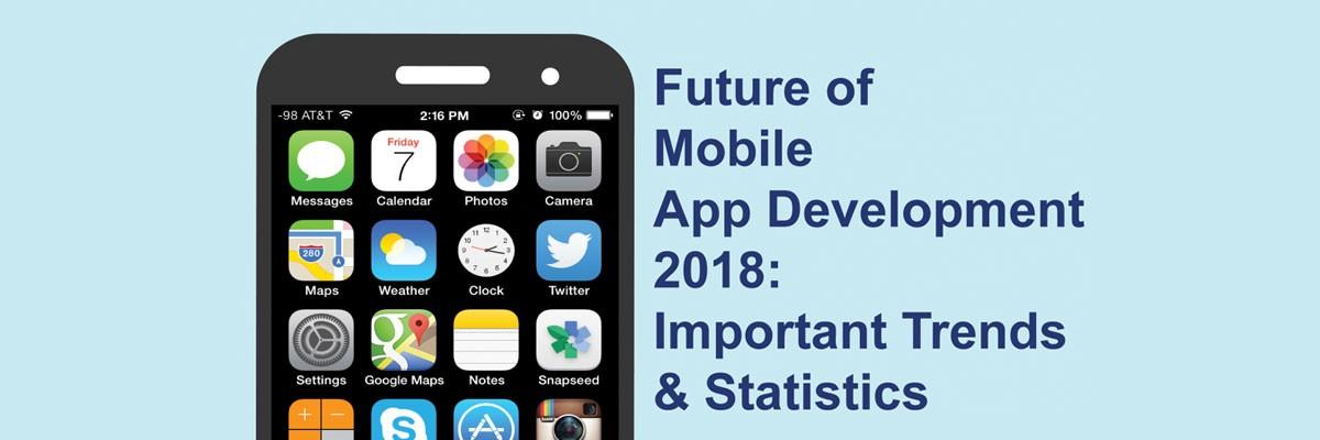Infographic future of mobile app development 2018 dot com infoway - Mobel trends 2018 ...