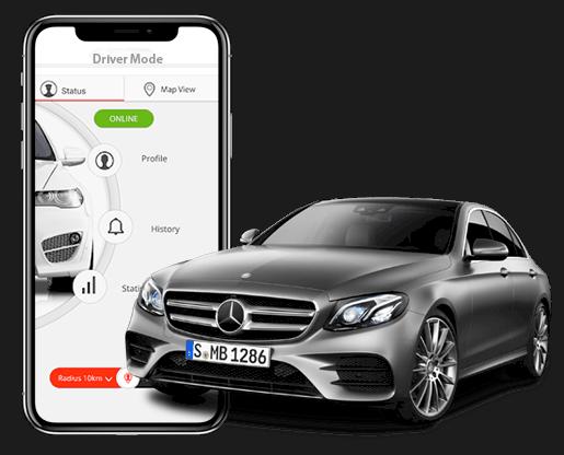 Taxi App Development Company, Cab Booking Mobile App