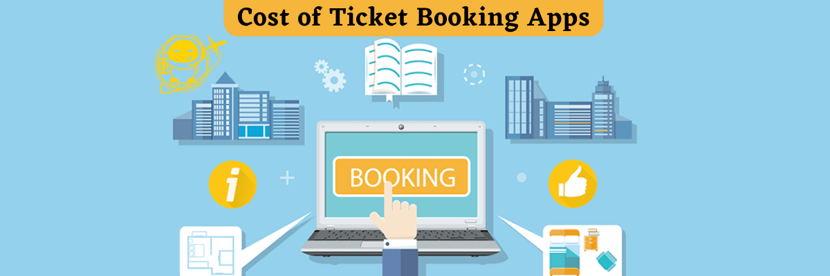 Cost of Ticket Booking Apps