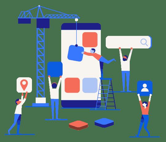 App UI/ UX Design Services