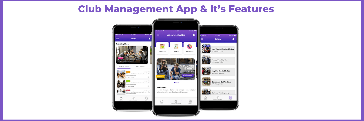 club management app